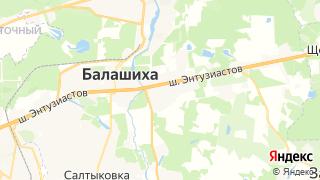 Карта автосервисов Балашихи