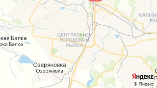 Карта автосервисов Горловки