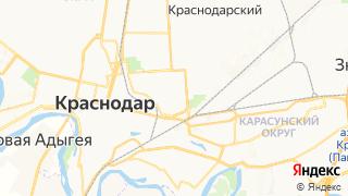 Карта автосервисов Краснодара