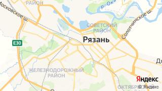 Карта автосервисов Рязани