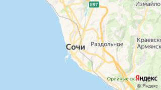 Карта автосервисов Сочи
