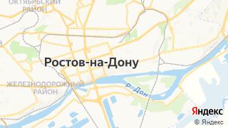 Карта автосервисов Ростова