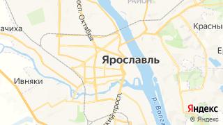 Карта автосервисов Ярославля