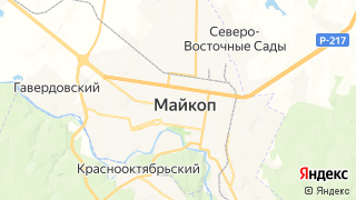 Карта автосервисов Майкопа