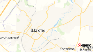 Карта автосервисов Шахт