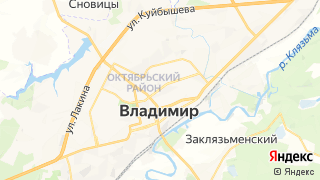 Карта автосервисов Владимира
