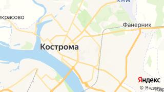 Карта автосервисов Костромы