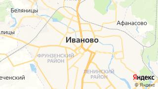 Карта автосервисов Иваново