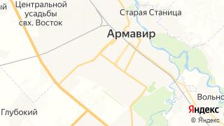 Карта автосервисов Армавира