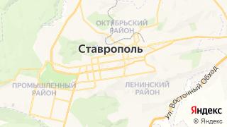 Карта автосервисов Ставрополя