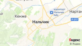 Карта автосервисов Нальчика