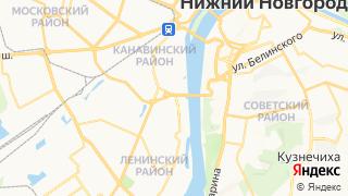 Карта автосервисов Нижнего Новгорода