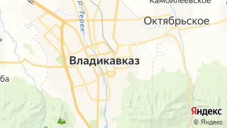 Карта автосервисов Владикавказа