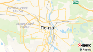 Карта автосервисов Пензы
