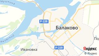 Карта автосервисов Балакова