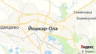 Карта автосервисов Йошкар-Олы