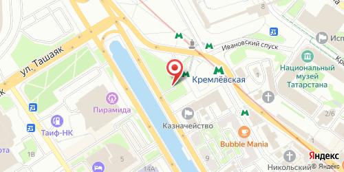 Штат 51, Казань, Кремлевская дамба, нижний уровень РК Парус