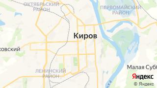 Карта автосервисов Кирова