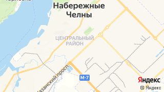 Карта автосервисов Набережных челнов