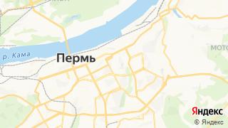 Карта автосервисов Перми