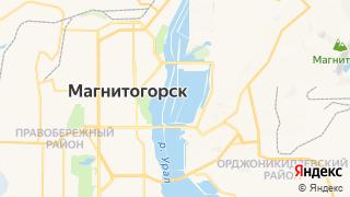 Карта автосервисов Магнитогорска