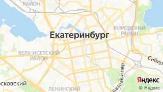 Карта автосервисов Екатеринбурга