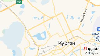 Карта автосервисов Кургана
