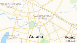 Карта автосервисов Астаны