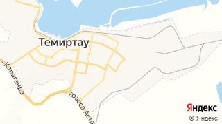 Карта автосервисов Темиртау