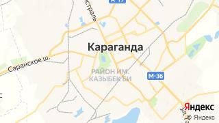 Карта автосервисов Караганды