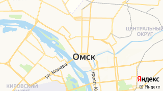 Карта автосервисов Омска