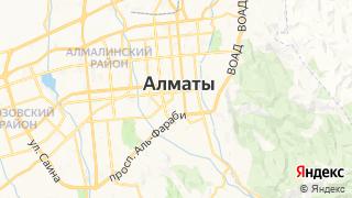 Карта автосервисов Алматы