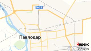 Карта автосервисов Павлодара