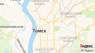 Карта автосервисов Томска