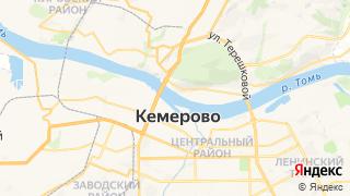 Карта автосервисов Кемерово