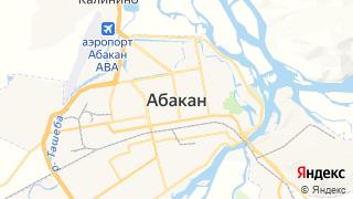 Карта автосервисов Абакана