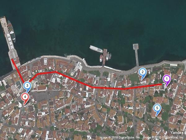 kumsal otel yandex harita'da nasıl görünüyor