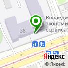 Местоположение компании Иркутский колледж экономики, сервиса и туризма