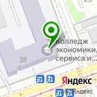 Местоположение компании Иркутский колледж экономики