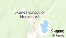 Гостиницы города Железногорск-Илимский на карте