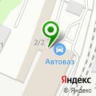 Местоположение компании Иркутск-АВТОВАЗ