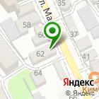 Местоположение компании Финист
