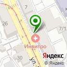 Местоположение компании ИНВИТРО
