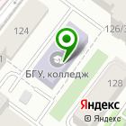 Местоположение компании Колледж Байкальского университета