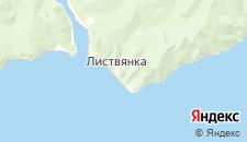 Гостиницы города Листвянка на карте