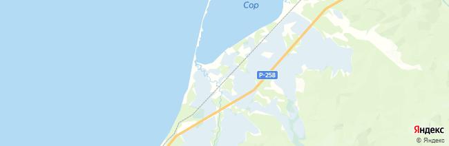Култушная на карте
