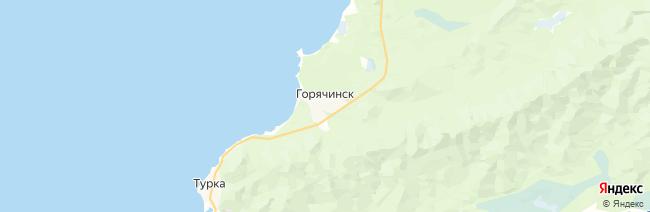 Горячинск на карте