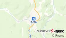 Гостиницы города Алдан на карте
