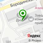 Местоположение компании Фабрика 21 век, компания по предоставлению услуг широкоформатной печати, изготовлению наружной рекламы, флагов