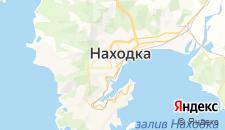 Гостиницы города Находка на карте